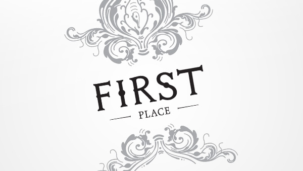 first place title page